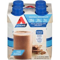 Atkins Milk Chocolate Delight Nutrition Shake