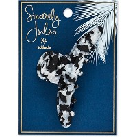 Sincerely Jules by Scünci Blue Tort Skinny Jaw Clip - 9cm
