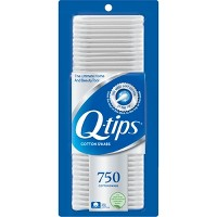 Q-Tips Cotton Swabs - 750ct