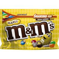 M&m's Peanut Milk Chocolate Candy Sharing Size