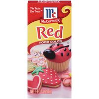 McCormick® Red Food Color