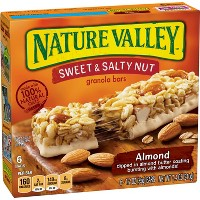 Nature Valley Sweet & Salty Nut Almond Granola Bars - 6ct