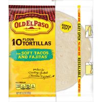 Old El Paso Flour Tortillas, Soft Tacos and Fajitas
