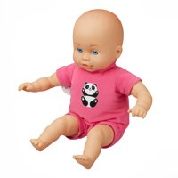 "My Sweet Love 13"" Soft Baby Doll with Sewn-On Pink Outfit"
