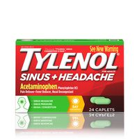 Tylenol Sinus Congestion And Pain Caplets, Daytime
