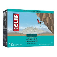 CLIF Bar Cool Mint Chocolate Energy Bars - 12ct