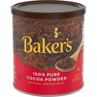 Baker's 100% Pure Cocoa Powder Natural Unsweetened