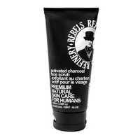 Rebels Refinery Activated Charcoal Face Scrub - 3.38oz