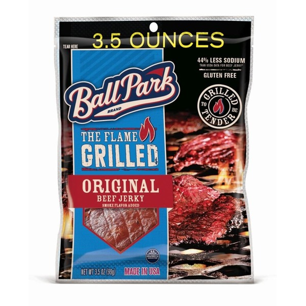 Ball Park The Flame Grilled Original Beef Jerky
