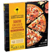 California Pizza Kitchen Signature Uncured Pepperoni Crispy Thin Crust Pizza