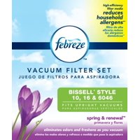 Febreze Spring & Renewal Scent BISSELL Style 10, 16, & 6046 Vacuum Filter, 2357