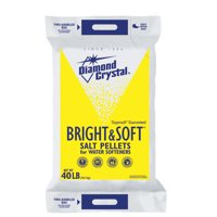 Diamond Crystal Bright & Soft Water Softener Salt Pellets, 40 Lb.