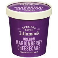 Tillamook Gelato, Oregon Marionberry Cheesecake