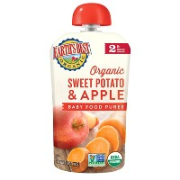 Earth's Best Organic Stage 2 Sweet Potato Apple Baby Food - 4oz