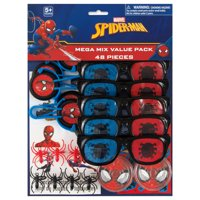 Spiderman Party Favors for 8, 48pc