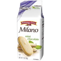 Pepperidge Farm Milano Mint Chocolate Cookies, 7 oz. Bag