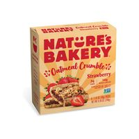 Nature's Bakery Oatmeal Crumble Strawberry
