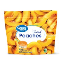 Great Value Frozen Sliced Peaches, 16 oz