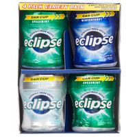 Eclipse Spearmint Gum Variety-Pack, 4 x 60 ct