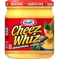 Cheez Whiz Kraft  Original Cheese Dip