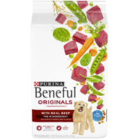 Purina Beneful Dry Dog Food, Originals With Real Beef - 3.5 lb. Bag