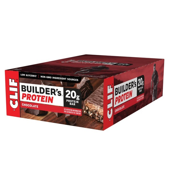 Clif Builder's Protein Bar - Chocolate - 12ct