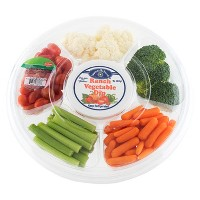 Vegetable Tray with Ranch Dip - 20oz