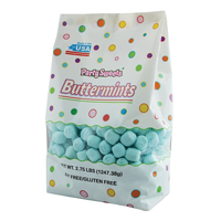 Party Sweets Blue Buttermints, 2.75 lbs