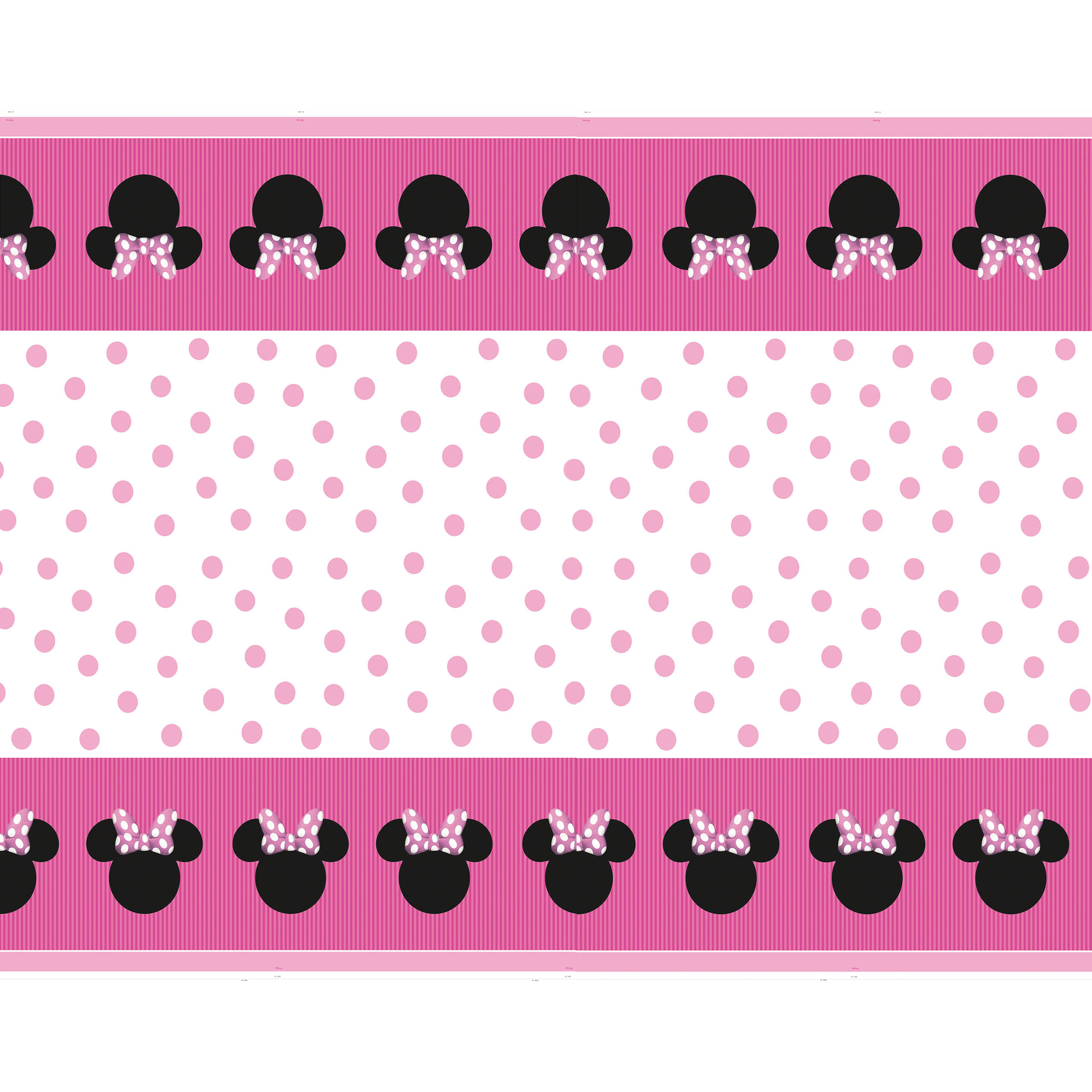 Minnie Mouse Plastic Party Tablecloth, 84 x 54in