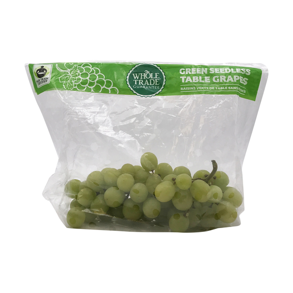 Whole foods market™ Whole Trade® Green Seedless Table Grapes