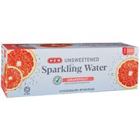 H-E-B Grapefruit Sparkling Water