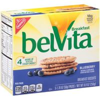 BelVita Breakfast Biscuits, Blueberry Flavor