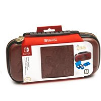 Nintendo Switch Game Traveler Deluxe Travel Case Zelda Link, Brown