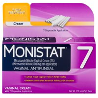 Monistat 7-Day Yeast Infection Treatment, Cream with 7 Applicators