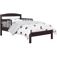 Baby Relax Jackson Toddler Bed With Bed Rails, Espresso