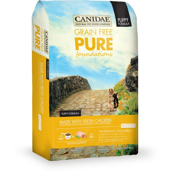 Canidae Pure Foundations Grain Free Limited Ingredient Diet Puppy With Fresh Chicken Natural Dog Food