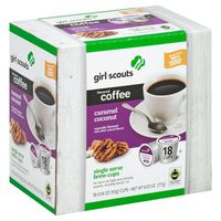 Caramel Delites Samoas Single Serve Coffee K Cup
