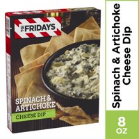 TGI Fridays Spinach & Artichoke Cheese Dip, Frozen Appetizer, 8 oz Box