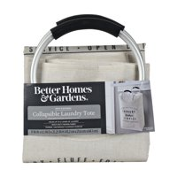 Better Homes & Gardens Deluxe Laundry Service Canvas Laundry Tote