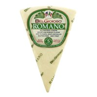 BelGioioso Romano Cheese Wedge, Specialty Cheese, 8 Oz