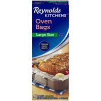 Reynolds Kitchens Large Oven Bags, 16x17.5 Inch, 6 Count
