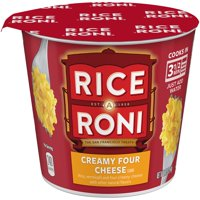 Rice-A-Roni Rice & Vermicelli Mix Creamy Four Cheese, 2.25 oz Cup
