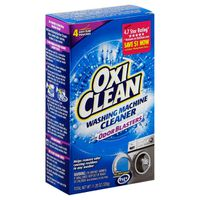 Oxi Clean Washing Machine Cleaner With Odor Blasters, 4 Count