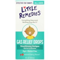 Little Remedies Tummy Relief Drops, Natural Berry Flavor, 1 Ounce