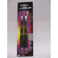 Uni-ball Signo 207 Retractable Gel Ink Rollerball Pens, Medium Point 0.7mm, 2 Count