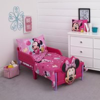 Minnie 4 Piece Toddler Bed Set