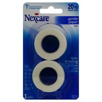 NexCare Gentle Paper Tape 1 Inch 20 YD - 2 CT