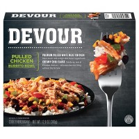 Devour Pulled Chicken Frozen Burrito Bowl - 12oz