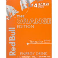 Red Bull The Orange Edition Energy Drink Tangerine