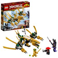 LEGO Ninjago The Golden Dragon Building Set 70666 (171 Pieces)